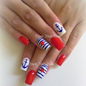 30 plus 4th of july nail tutorials the cottage market 3 prinsesfo Gallery