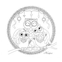 Dreamcatcher Free Coloring Page 27
