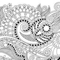 mandala flowers free coloring page 3 - Free Coloring Pages For Adults