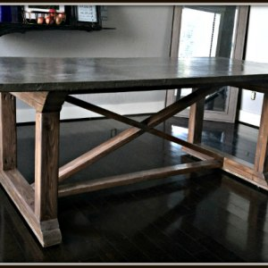 Cool  Concrete Dining Table