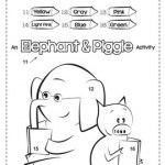 10 FREE Elephant & Piggie Activities - The CheekyCherubs