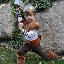 9. Viking Costume  sc 1 st  Happiness is Homemade & 30+ Creative DIY Halloween Costumes for Kids - Happiness is Homemade