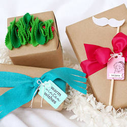 50 Unique & Creative Ways to Wrap a Gift - Happiness is Homemade