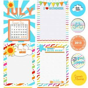 graphic about Free Printable Journal Cards identify 100+ Free of charge Printable Venture Everyday living Journaling Card Include Sets