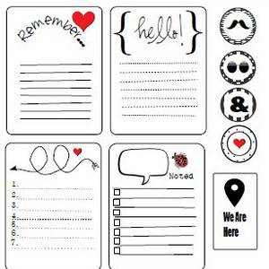 image about Free Printable Journaling Cards named 100+ Cost-free Printable Venture Everyday living Journaling Card Increase Sets
