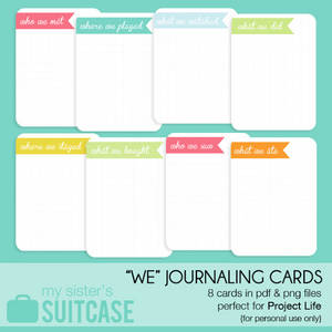 image relating to Printable Journaling Cards named 100+ Free of charge Printable Venture Lifetime Journaling Card Include Sets