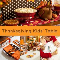 30 Fun Thanksgiving Kids Table Ideas Happiness Is Homemade
