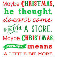 Christmas Grinch Quotes.Free Christmas Printables Grinch Quote 15 More