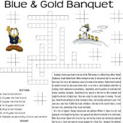 photo regarding Cub Scout Printable Activities called Cub Scout Blue Gold Banquet Programs - Joy is Selfmade