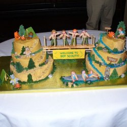 50 Incredible Boy Scout Cake Ideas Happiness Is Homemade