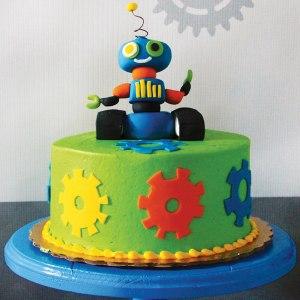Remarkable Robot Cake Ideas Personalised Birthday Cards Epsylily Jamesorg