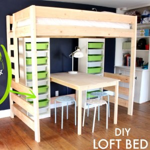 Awesome  DIY Loft Bed