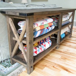 Rustic Wood Furniture Plans fixer upper diy style: 101 free diy furniture plans