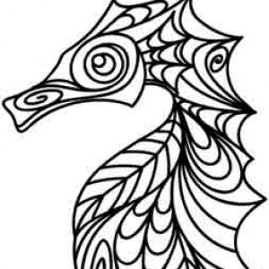 FREE Cow Coloring Page for Grown-Ups | Abstract coloring pages ... | 300x300