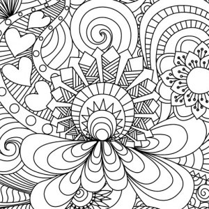coloring pages for adults free Coloring Pages to print (101 FREE pages!) coloring pages for adults free