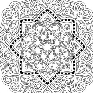 Coloring Pages To Print 101 Free Pages - Printable-coloring-pages-adults