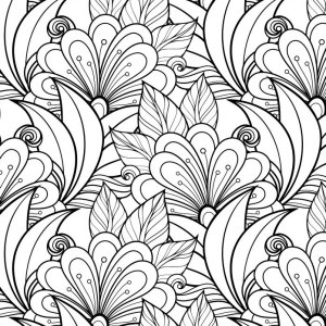 detailed coloring pages for adults Coloring Pages to print (101 FREE pages!) detailed coloring pages for adults
