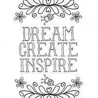 90 Inspirational Free Coloring Page