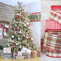 5 rustic farmhouse christmas tree - Farmhouse Christmas Tree