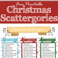 picture about Scattergories Lists 1-12 Printable identified as Xmas Celebration Local community Sport: If the Hat Suits, the Hilarious