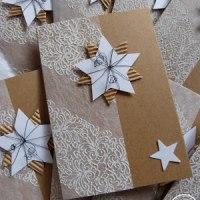 Ideen F303274r Weihnachtskarten.Creadienstag 2017