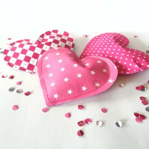 Handmade Valentine Gift Paper Heart Pouch My Sweet Things
