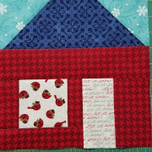 Merry & Bright Sew Along Block #1 - Pat Sloan's I Love To